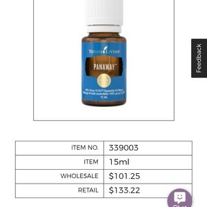 Brand New Young Living Panaway essential oil